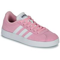 Sapatos Criança Sapatilhas adidas Originals VL COURT K ROSE Rosa