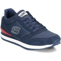 Sapatos Homem Sapatilhas Skechers Sunlite Waltan Azul marinho