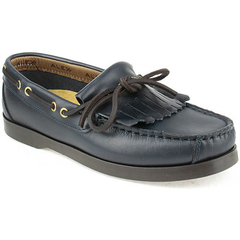 Sapatos Rapaz Sapato de vela Alex K Shoes Vellas Azul