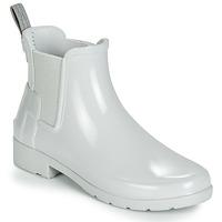 Sapatos Mulher Botas de borracha Hunter ORIGINAL KIDS Cinza