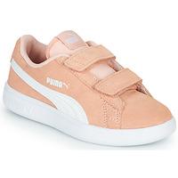 Sapatos Rapariga Sapatilhas Puma SMASH PSV PEACH Coral
