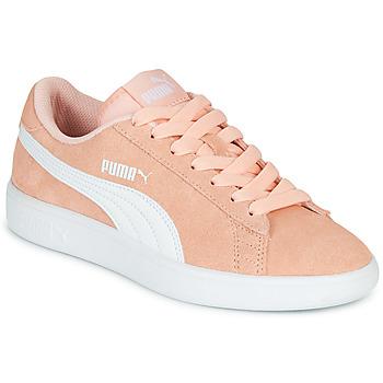 Sapatos Rapariga Sapatilhas Puma SMASH V2JR PEAC Coral