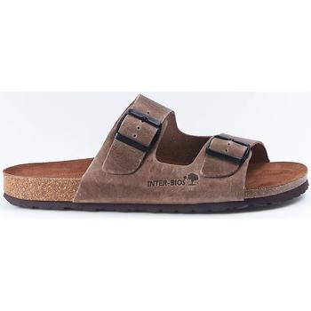 Sapatos Mulher Sandálias Interbios Sandalias  9560 Pardo Castanho