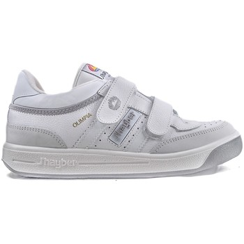 Sapatos Homem Fitness / Training  J´hayber Zapatillas J´hayber Olimpia Blanco-Gris Branco