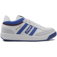 Sapatos Homem Fitness / Training  J´hayber Zapatillas J´Hayber New Pista Blanco-Azulina Blanco