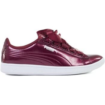 Sapatos Mulher Sapatilhas Puma Vikky Ribbon P Bordô