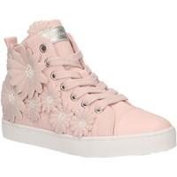 Sapatos Rapariga Sapatilhas de cano-alto Geox J9204L 00011 J CIAK Rosa
