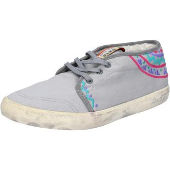 Sapatos Mulher Sapatilhas Date AP518 Cinza
