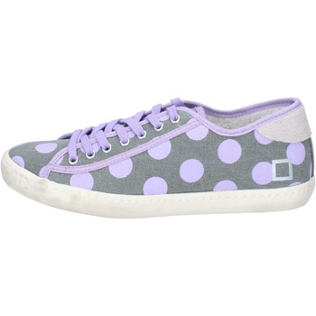 Sapatos Mulher Sapatilhas Date AP561 Cinza