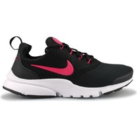 Sapatos Rapariga Sapatilhas Nike PRESTO FLY JUNIOR NOIR ROSE Preto