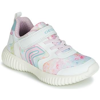 Sapatos Rapariga Sapatilhas Geox WAVINESS Branco