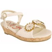 Sapatos Rapariga Sandálias Flower Girl 221001-B4600 Beige