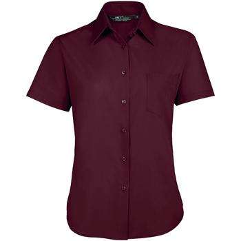 Textil Mulher camisas Sols ESCAPE POPELIN WOMEN Violeta