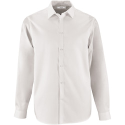 Textil Homem Camisas mangas comprida Sols BRODY WORKER MEN Blanco