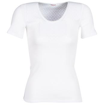 Roupa de interior Mulher Camisolas de interior Damart FANCY KNIT GRADE 4 Branco