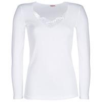 Roupa de interior Mulher Camisolas de interior Damart CLASSIC GRADE 3 Branco