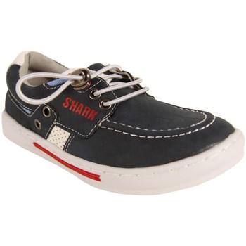 Sapatos Rapaz Sapato de vela New Teen 246472-B4600 Azul