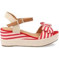 Sapatos Mulher Alpargatas Clowse 9R86 Rojo