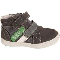 Sapatos Rapaz Sapatilhas de cano-alto New Teen 222462-B1080 Azul