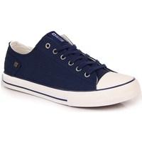 Sapatos Mulher Sapatilhas Big Star INT1092C Branco,Azul marinho