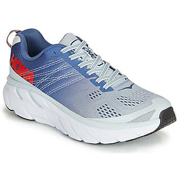 Sapatos Mulher Sapatilhas de corrida Hoka one one CLIFTON 6 Azul