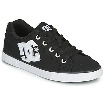 Sapatos Mulher Sapatos estilo skate DC Shoes CHELSEA TX Preto / Branco