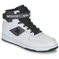 Sapatos Homem Sapatilhas de cano-alto DC Shoes PENSFORD SE Branco / Preto