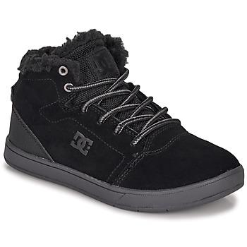 Sapatos Criança Sapatilhas de cano-alto DC Shoes CRISIS HIGH WNT Preto