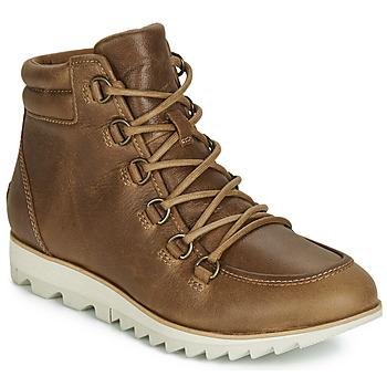 Sapatos Mulher Botas baixas Sorel HARLOW LACE Conhaque