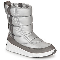 Sapatos Mulher Botas de neve Sorel OUT N ABOUT PUFFY MID Cinza
