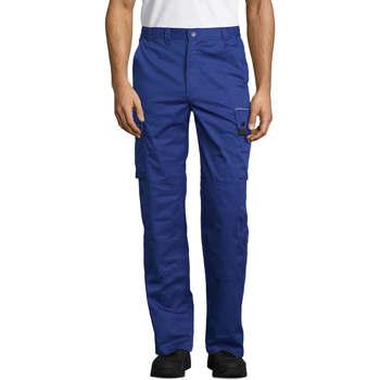 Textil Calça com bolsos Sols ACTIVE PRO WORKS Azul