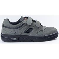 Sapatos Mulher Sapatilhas Paredes Zapatillas  Ecológico Gris Velcro Cinza