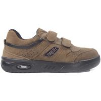 Sapatos Mulher Sapatilhas Paredes Zapatillas  Ecológico Marrón Velcro Castanho