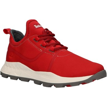 Sapatos Homem Sapatilhas Timberland A1Z14 BROOKLYN Rojo