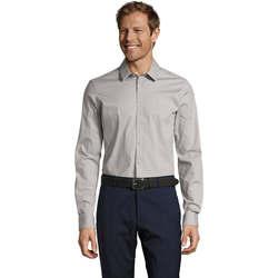Textil Homem Camisas mangas comprida Sols BLAKE MEN Gris