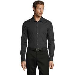Textil Homem Camisas mangas comprida Sols BLAKE MODERN MEN Gris
