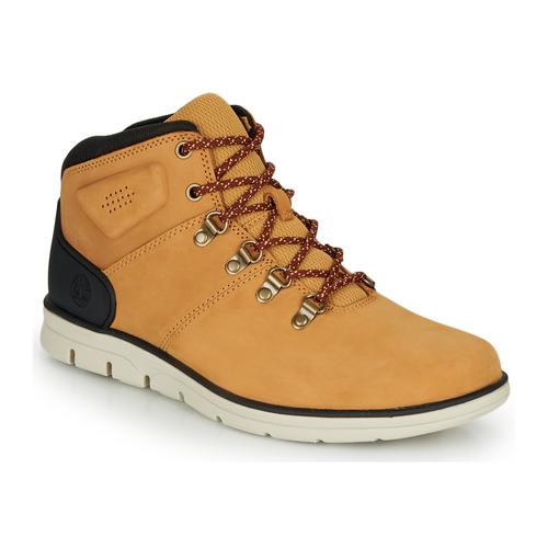 Sapatos Homem Sapatilhas de cano-alto Timberland BRADSTREET HIKER Trigo / Castanho