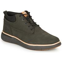 Sapatos Homem Sapatilhas de cano-alto Timberland CROSS MARK PT CHUKKA Cinza / Escuro