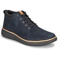 Sapatos Homem Sapatilhas de cano-alto Timberland CROSS MARK PT CHUKKA Azul