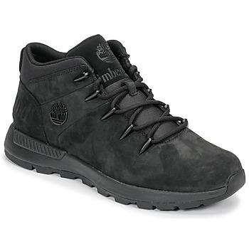 Sapatos Homem Botas baixas Timberland EURO SPRINT TREKKER Preto