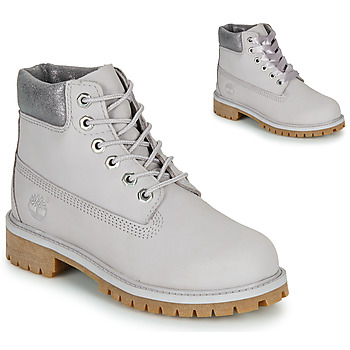 Sapatos Criança Botas baixas Timberland 6 IN PREMIUM WP BOOT Cinza