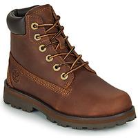 Sapatos Criança Botas baixas Timberland COURMA KID TRADITIONAL6IN Castanho