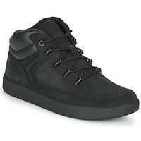 Sapatos Criança Sapatilhas de cano-alto Timberland DAVIS SQUARE TDEUROSPRINT Preto