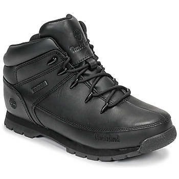 Sapatos Criança Botas baixas Timberland EURO SPRINT Preto