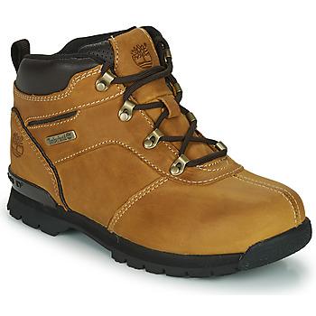 Sapatos Criança Botas baixas Timberland SPLITROCK 2 Castanho