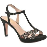 Sapatos Mulher Escarpim Mayfran Calzados Sandalia de vestir de mujer by Annora Noir