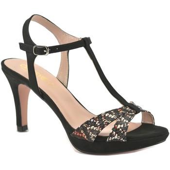 Sapatos Mulher Escarpim Mayfran Calzados Sandalia de vestir de mujer by Annora Negro