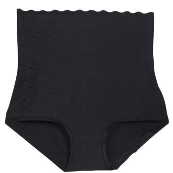 Roupa de interior Mulher Cuecas de cintura subida DIM BEAUTY LIFT Preto