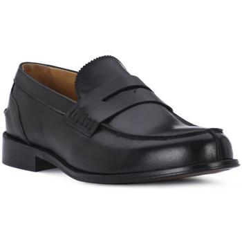 Sapatos Homem Mocassins Exton VITELLO NERO Nero