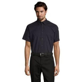 Textil Homem Camisas mangas curtas Sols BROOKLYN TWILL DAY Azul